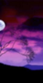 Cool-purple-sky-moon-wallpaper-HD-backgr