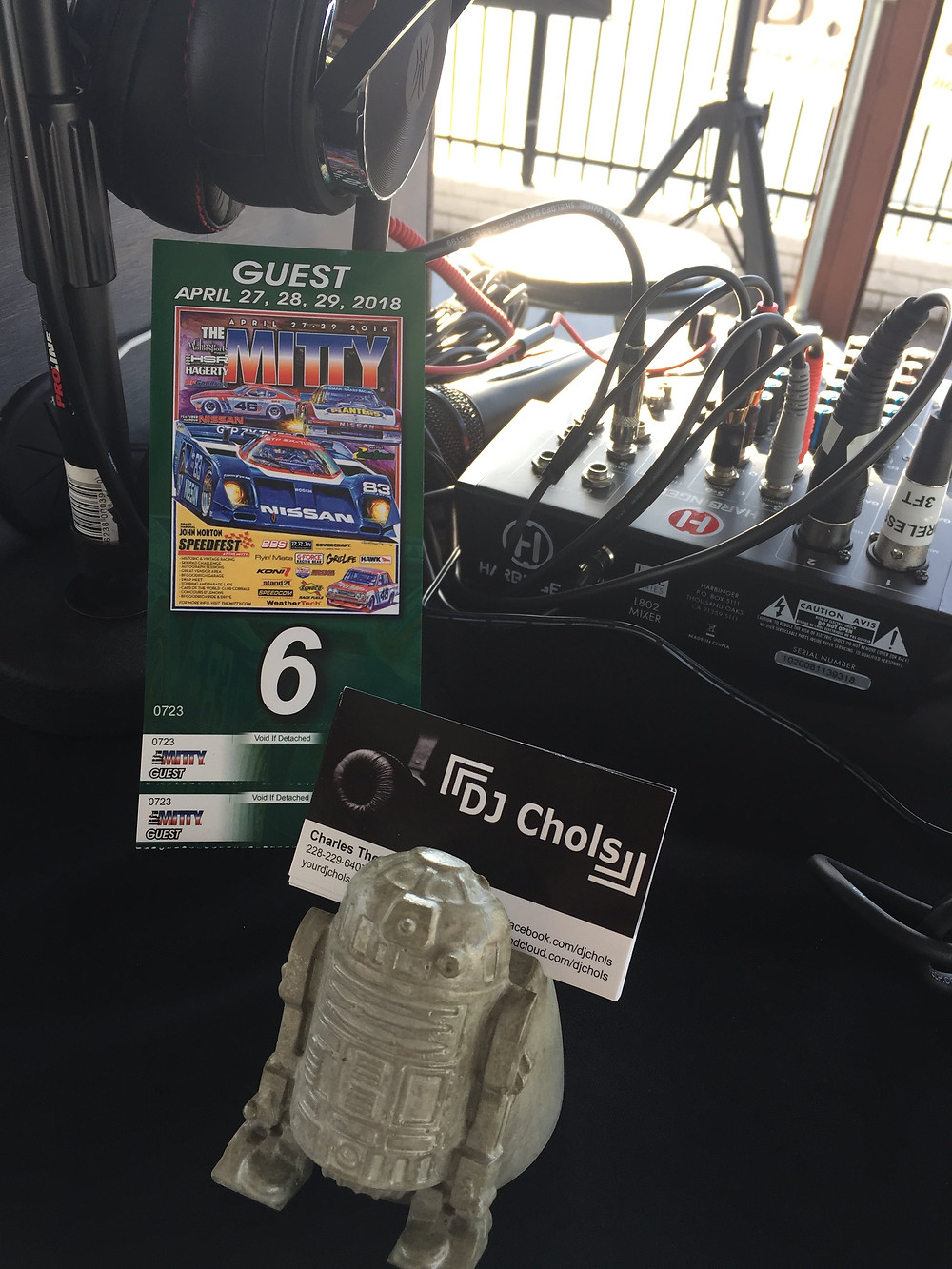 Road Atlanta Mitty DJ Chols ticket