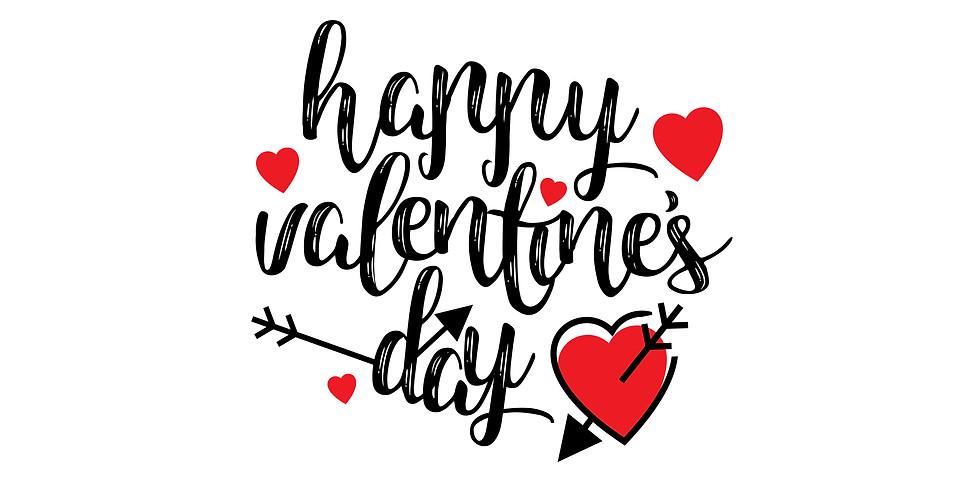 Valentinstag-Tauchen