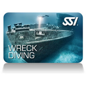 Wreck Diving SSI Wrack Tauchen