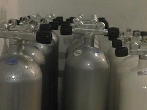 Tauchflaschen Divers Indoor Aufkirchen
