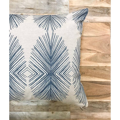 Essential Blue Ikat Pillows - Pablo