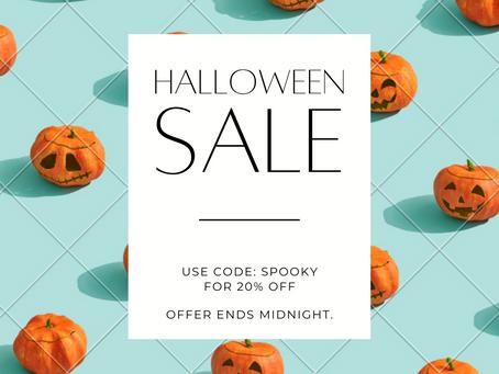 Halloween 🎃 Discount!