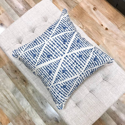 Global Touch With Blue Boho Pillows - Bruno