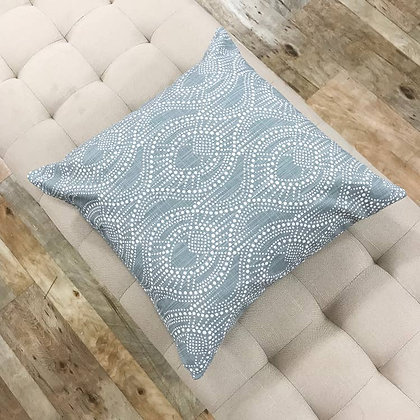 Soft Blue Pillows With Style - Carter