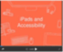 Accessibility on iPads