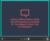 Literacy Differentiation Slides on Slideshare