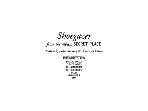 """Shoegazer"" score and parts"