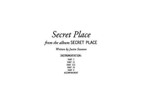 """""""Secret Place"""" score and parts"""