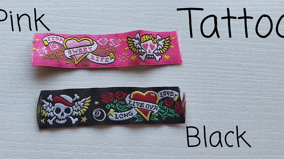 Funky Design Strong Half Check Collars & Leads