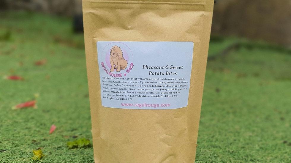 Pheasant and Sweet Potato Bites