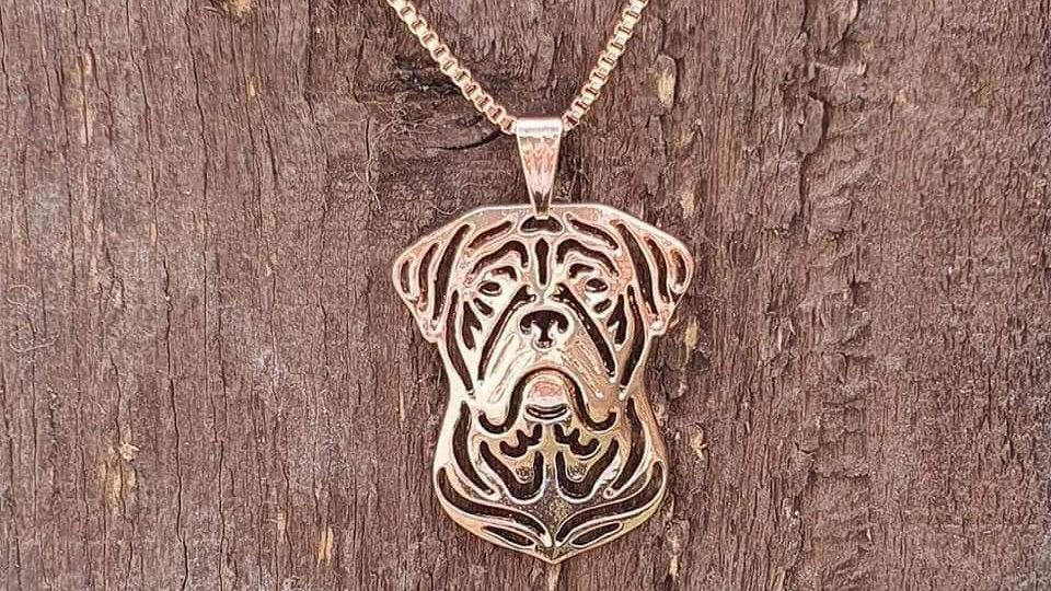 Dogue de Bordeaux Necklace