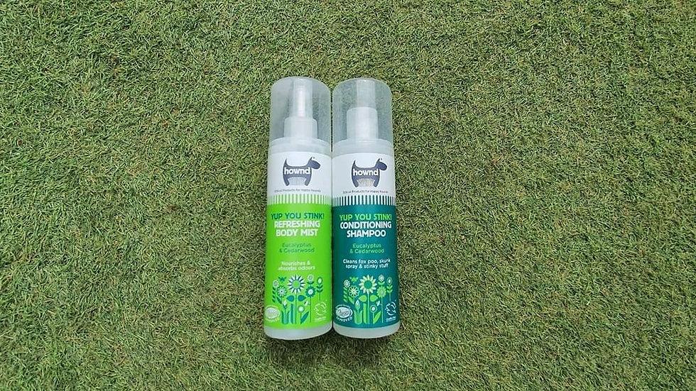 Hownd Shampoo and Spray Set
