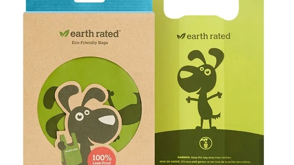 Earth Rated handled Poop bags 120 unscented