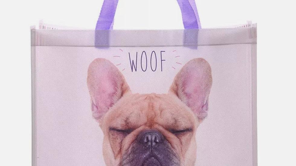 French Bulldog Reusable Shopping Bag