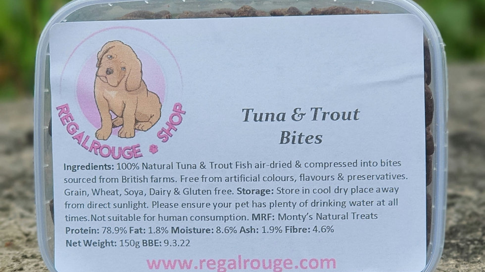 Tuna and Trout Bites