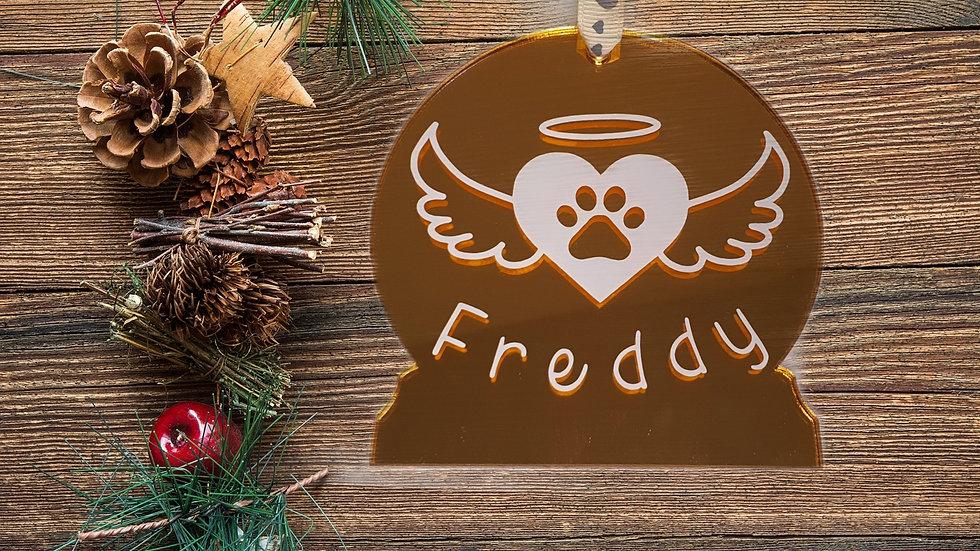Personalised Pet Christmas Tree Decorations