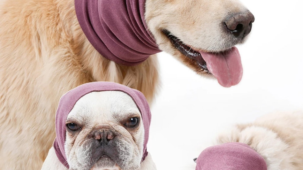 Dog Calming Ear Covers - noise proof - Happy Hoody