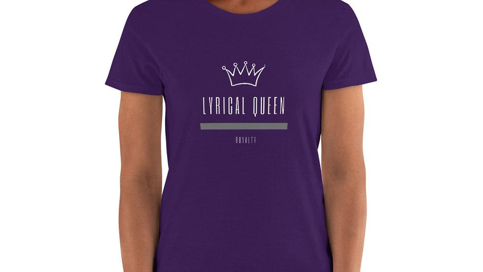 Women's short sleeve t-shirt Lyrical Queen - Royalty