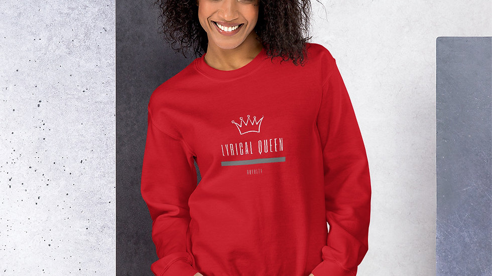 Unisex Sweatshirt - Lyrical Queen - Royalty