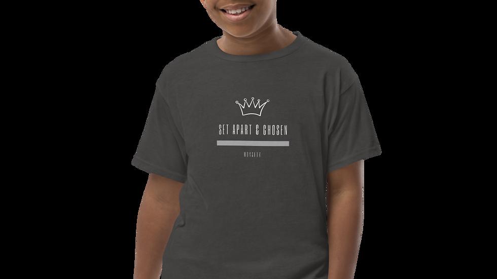 Youth Short Sleeve T-Shirt - Set Apart & Chosen - Royalty