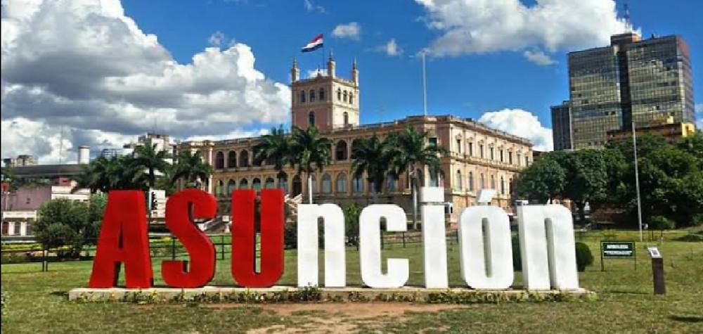 Assunção, Paraguai. Arquivo Pessoal de Fernanda Andrade.