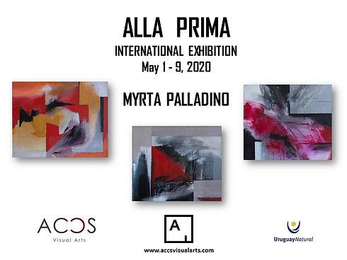 ALLA PRIMA by Myrta Palladino