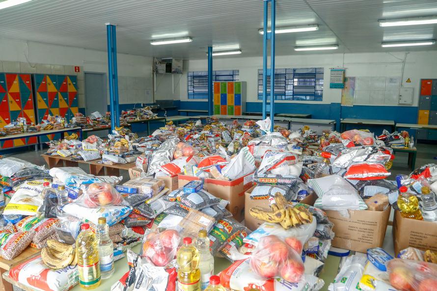 Kits alimentação - Foto: Gilson Abreu/AEN/PR.