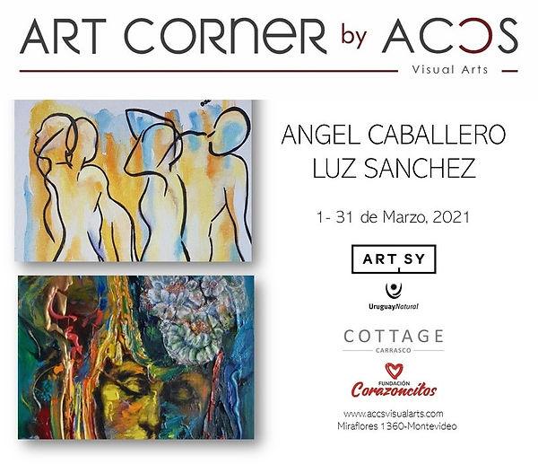 ART CORNER by Angel Caballero & Luz Sanchez