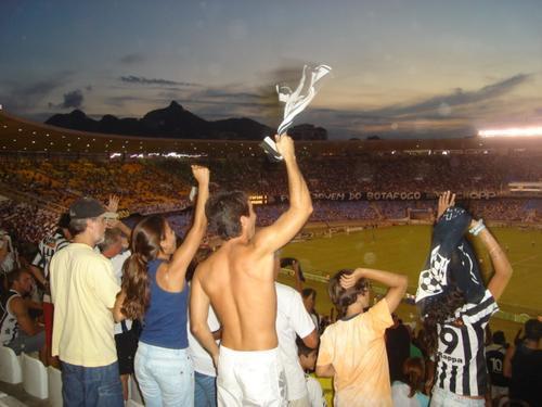 Paixão. Torcida do Botafogo. Foto: Bruno Velasco - AG#01.