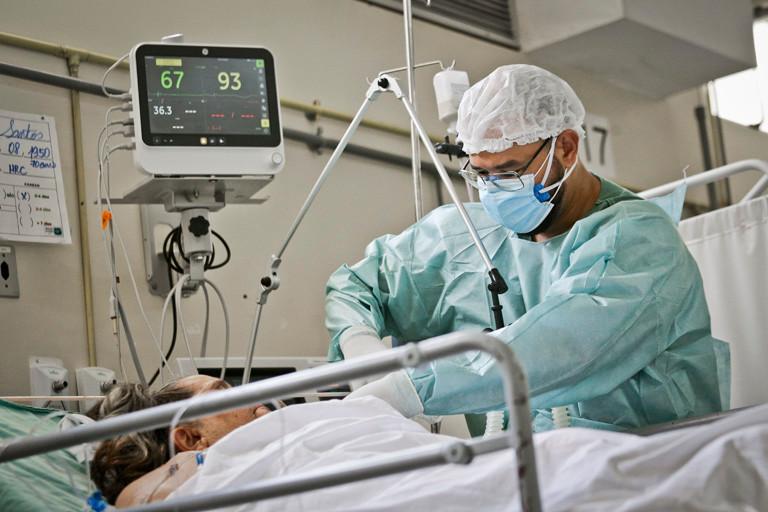 Sequelas em pacientes de COVID-19. Foto: Agência Brasil 61.