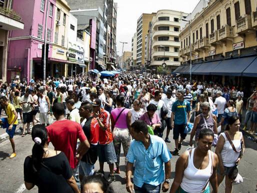 Brasil atinge 213,3 milhões de habitantes