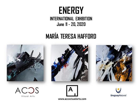 ENERGY by María Teresa Hafford