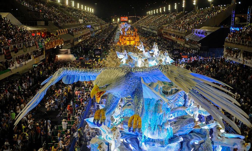 Desfile de Carnaval, Rio de Janeiro/RJ. Foto: Agência Brasil 61.