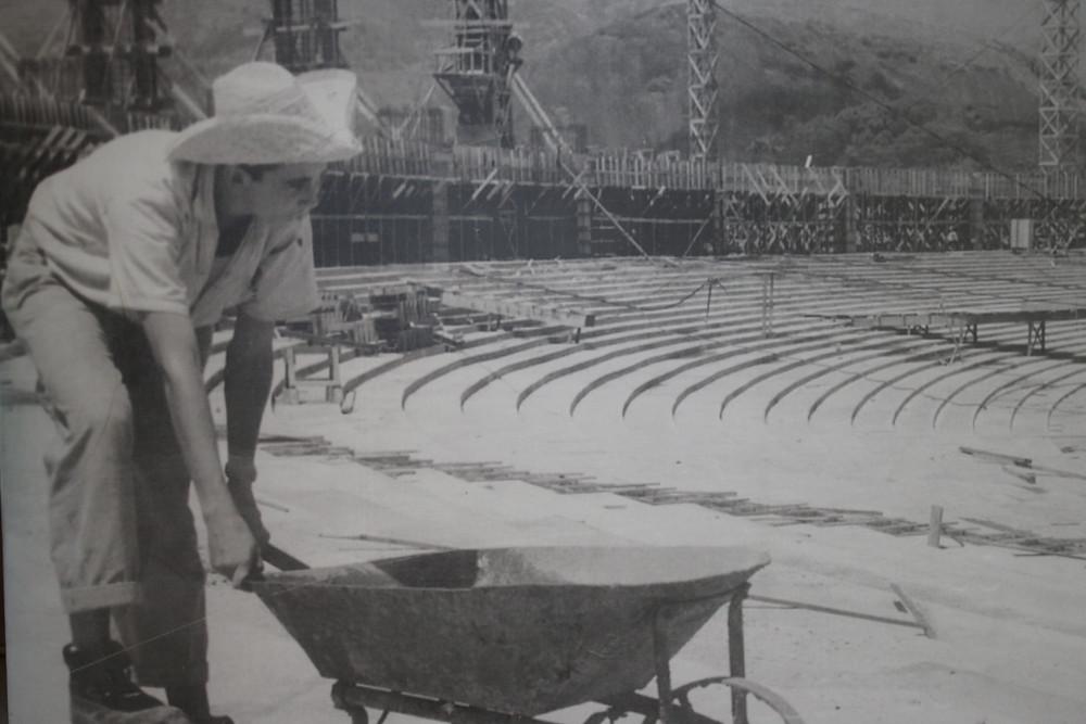 Construção - Fotorreprodução  - Museu do Maracanã