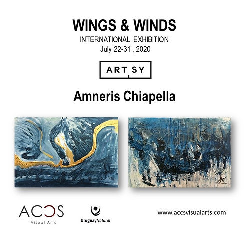 WINGS AND WINDS by Amneris Chiapella