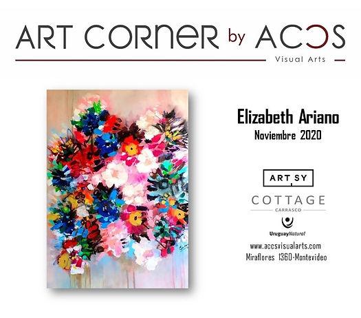 ART CORNER by Elizabeth Ariano