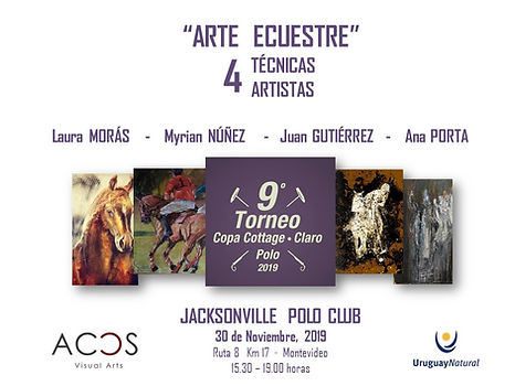 ARTE ECUESTRE, 4 Técnicas - 4 Artistas