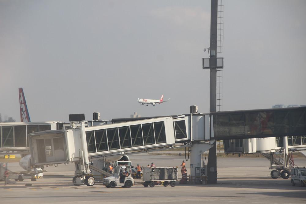 Aeroporto de Guarulhos. Foto: Bruno Velasco.