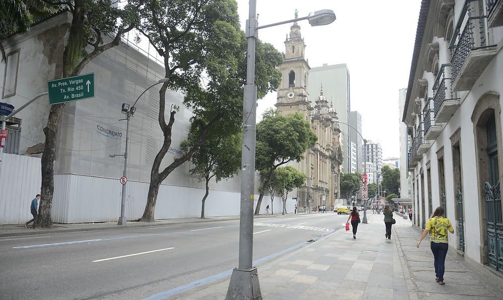 Cidade vazia. Foto: Agência Brasil 61.