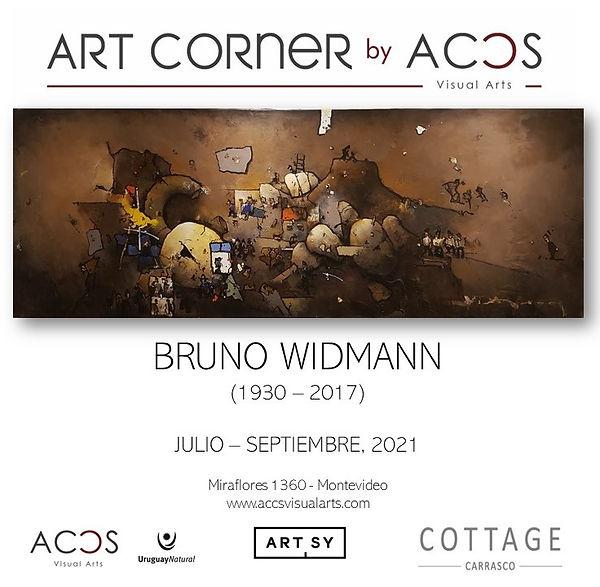 ART CORNER by Bruno Widmann