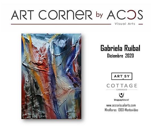 Art Corner by Gabriel Ruibal