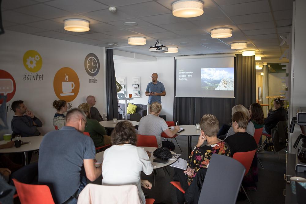 Föreläsning med Kristoffer Bergendal på Inbilda
