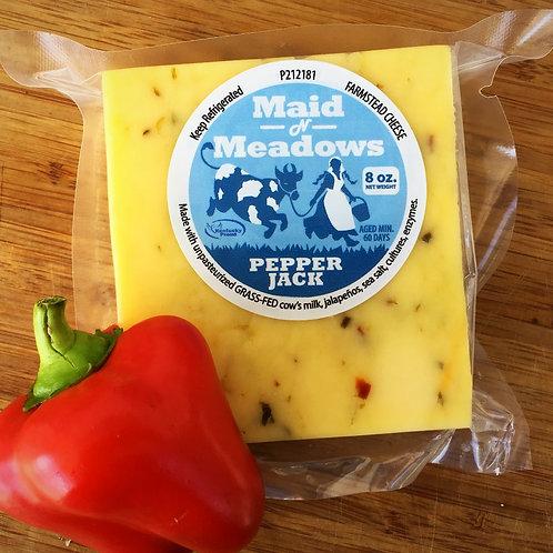 Raw Grass-fed Pepper Jack