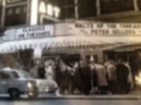 Art Theatre facade 1962 Waltz of the Tor