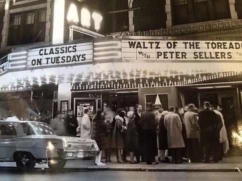 Art Theatre facade 1962 Waltz of the Tor