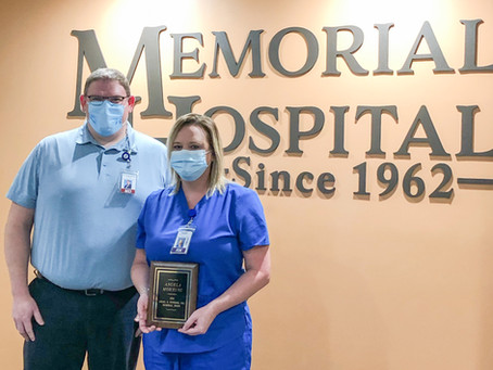 Memorial Hospital Service Awards & Newmark Award 2020