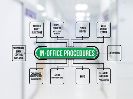 Rural Health Clinic In-Office Procedures