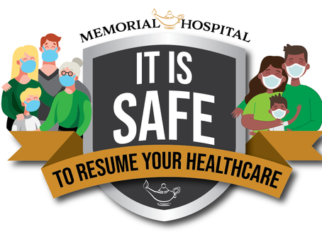 It is Safe to Resume Your Healthcare