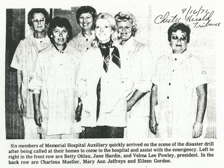The Memorial Hospital Auxiliary, as vital today as they were 60 years ago